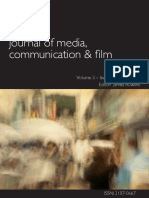IAFOR Journal of Media Communication Film Volume 3 Issue 1 V3