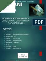 Estudio Analitico Del Titanio