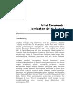 Nilai Ekonomis Jembatan Selat Sunda