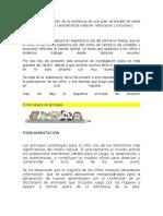 Poyecto Diccionario de Animales