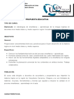 PROYECTO EDUCATIVO DIPLOMADO