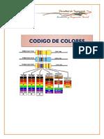 Informe Fisica Codigo de Colores