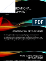 Organizational Development Class 2
