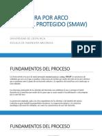 Clase Soldadura SMAW, GTAW y GMAW