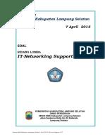 Soal IT-PC Networking Support -Lkslamsel-2015
