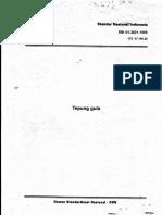 Sni 01-3821-1995 Tepung Gula