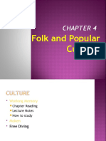 Folk and Popular Culture Ch 4 Lecture Notes 2016
