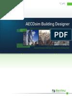 Latest AECOsim Product Brochure