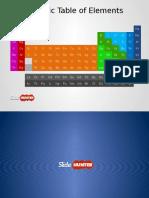 8099 Periodic Table Elements