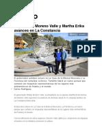05.12.16 Diario Cambio - Supervisan Moreno Valle y Martha Erika Avances en La Constancia