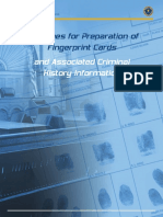 Guidelines for Preparation of Fingerprint Cards and Association Criminal History Information