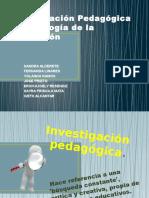 Investigación Pedagógica y Psicología de La Educación