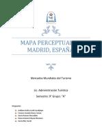 Mapa Perceptual de Madrid, España.