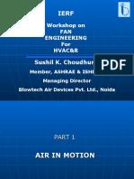 Workshop on Fans - 24.11.05