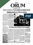 The Forum Gazette Vol. 3 No. 6 March 20-April 5, 1988