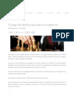 El Juego Del Ajedrez Aplicado a Tus Negocios _ FundaPymes