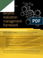 Benefits Realization Management Framework