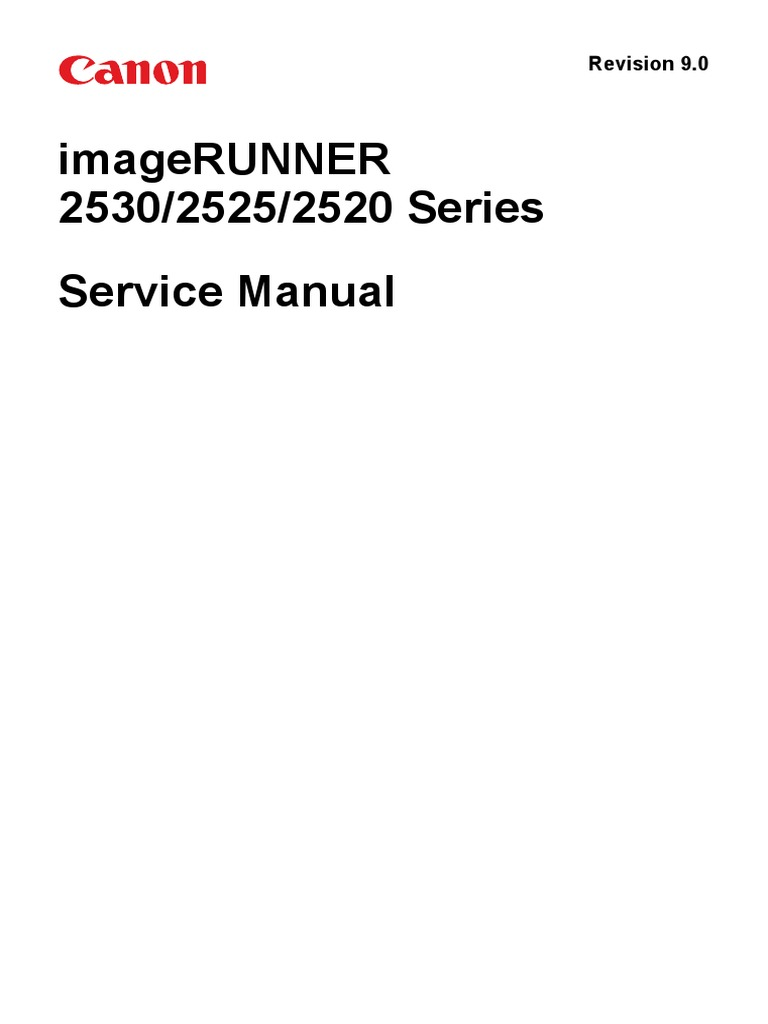 imageRUNNER+253025252520+series+Service+Manual_en_9.0.pdf | Signal  (Electrical Engineering) | Electronic Circuits