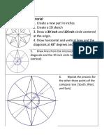 2d compass rose tutorial