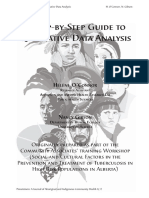 A step by step guide to Qualitative data analysis.pdf