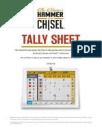 6051 MHC Tally Sheet-Printable