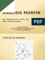 Analisis Morfin