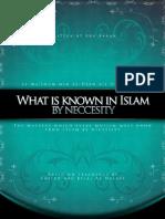 [SALAFIMEDIA]-What is Known in Islam by Necessity - Abu Bilal Halabi