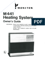 Monitor M441 Kerosene Heater Owners Manual