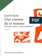 Judith Butler - Dar cuenta de si mismo. Violencia etica y responsabilidad.pdf