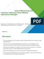 CMGI 2015 TT2 S2 Mastering Performance Monitoring and Capacity Planning Using VRealize Operations Manager