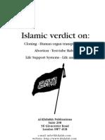 Islamic Verdict on Cloning