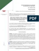 Respuesta de la SIOP sobre el título de Netzahualcóyotl Ornelas