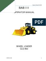 5. Bab III Operator Manual WL CLG 862 Liu Gong .