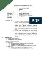 RPP P Web Lanjut XII Ke 2 RPL SMK Taruna Bhakti