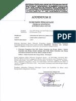 ADDENDUM II Rehabilitas Jaringan Irigasi D.I Alopohu