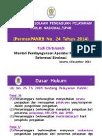 Kemenpan Paparan Sp4n Menteri 2014