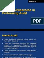 Miinimum Audit Prosedures for Taxation