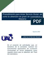 UAL Serivicio Social y Titulacion
