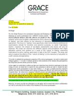 Unesco Letter Template
