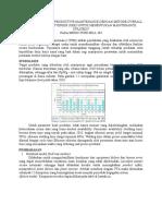 Implementasi Total Productive Maintenance Dengan Metode Overall