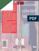 A Política Social Do Estado Capitalista-Vicente de Paula Faleiros 8ªEdição Re_56462375