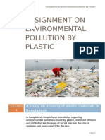 Environment Pollution by Plastic