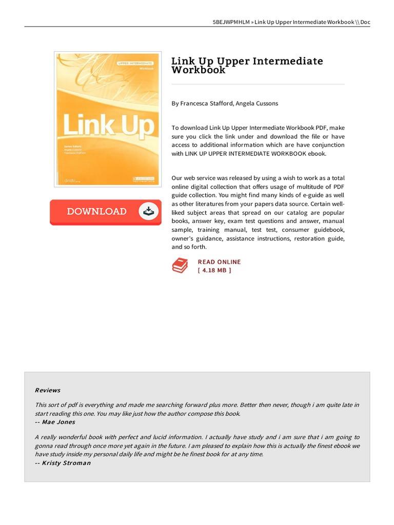 Book Link Up Upper Intermediate Workbook   Sources   Book Formats