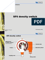 SF6 Density Switch