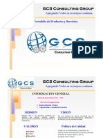 Port a Folio de Servicios GCS Consulting Group Division Capacitacion REV 3-2010