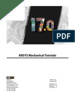 ANSYS Mechanical Tutorials r170