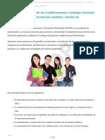 Estructura de La Formación Profesional