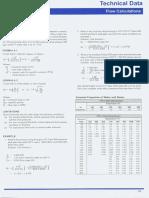 Flow Calculations