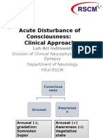 Acute Disturbance of Consciousness EIDCP 2016