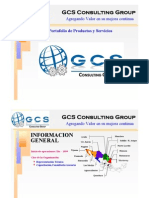 Port a Folio de Servicios GCS Consulting Group Division Tercerias REV-1-10